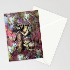 harmony and silence Stationery Cards