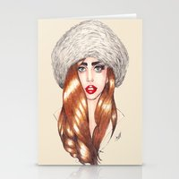 Furr Queen Stationery Cards
