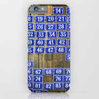iPhone & iPod Case featuring Numbers by Marieken