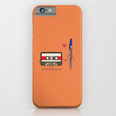 Love: Cassette And Pen iPhone 6 Slim Case