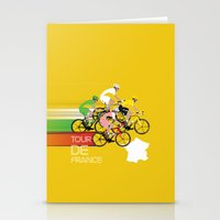 Tour De France Stationery Cards