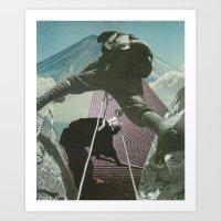 Mount Zen Art Print