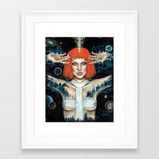 Leeloo Dallas Framed Art Print