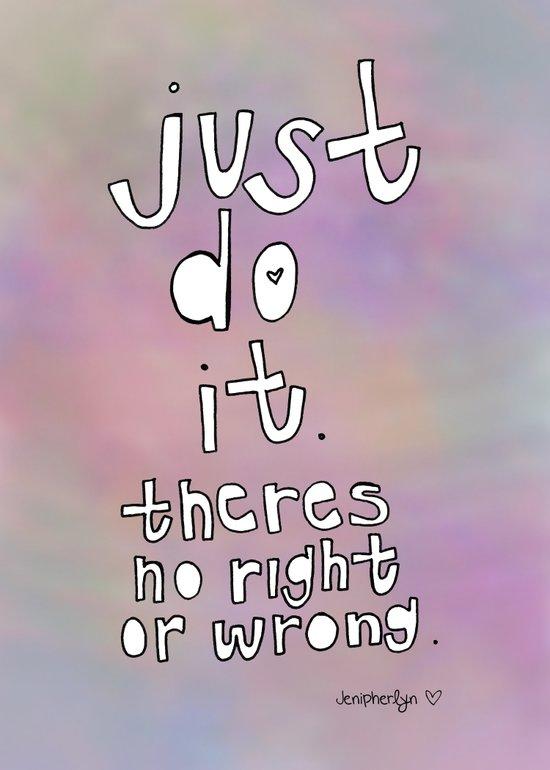 No Wrong Way. Art Print