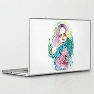 Laptop & iPad Skin featuring Garden  by Veronika Weroni Vajd…