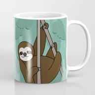 Kawaii Sloth Mug