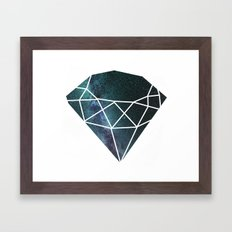 Starry Night Gem Framed Art Print