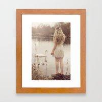 The Swan Fairy Framed Art Print
