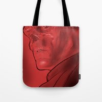 The Red Skull Tote Bag