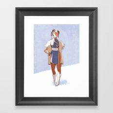 Chun-Li Framed Art Print