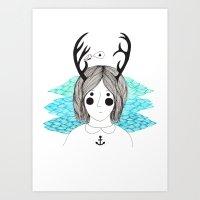Imogean Art Print