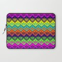 Elena Pattern Laptop Sleeve