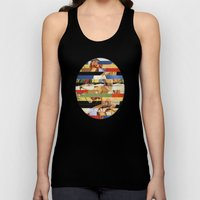 Glitch Pin-Up Redux: Jes… Unisex Tank Top