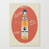 Club-Mate Canvas Print
