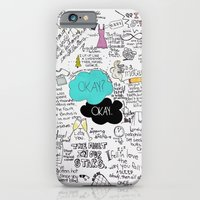 iPhone & iPod Case featuring The Fault in Our Stars- John Green by Natasha Ramon