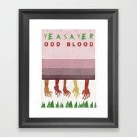 Yeasayer Framed Art Print