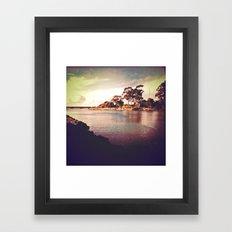 I am not an adventurer by choice but by fate. Framed Art Print