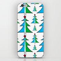 Christmas Tree Pattern iPhone & iPod Skin