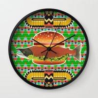 Alaska Burger Wall Clock