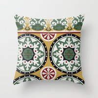 Tiles.02 Throw Pillow
