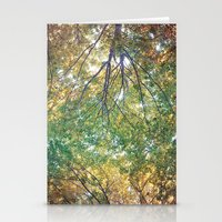 forest 014 Stationery Cards
