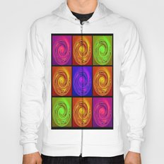 Abstract Collage Art Hoody