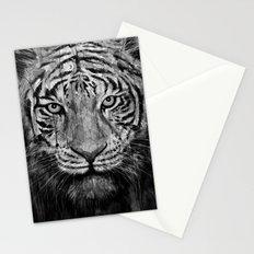 Tiger Black & White Stationery Cards