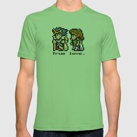 True Love Mens Fitted Tee Grass SMALL