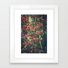 Autumn Botanical -- Amer… Framed Art Print