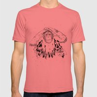 In the shadow of Man Mens Fitted Tee Pomegranate SMALL