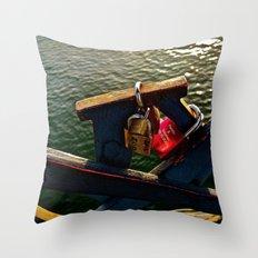 Interlocked Throw Pillow