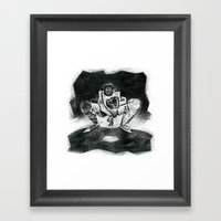 The Catcher: An Enigmatic Two Framed Art Print