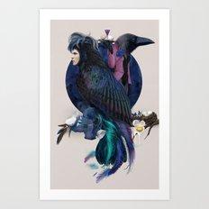 liquor for the birds Art Print