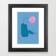 Sugar Free Framed Art Print