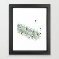 Feathergrass Framed Art Print