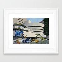 Post-Nuclear Guggenheim Visit Framed Art Print