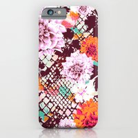iPhone & iPod Case featuring Croc Floral by Aimee St Hill