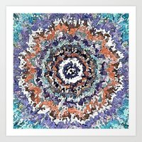 Colorful Abstract Circle… Art Print
