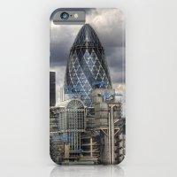 iPhone & iPod Case featuring Gherkin by John Murray/DarkStarImages