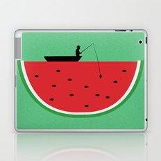 Watermelon Fisher Laptop & iPad Skin