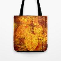 Autumn Memories In Orang… Tote Bag