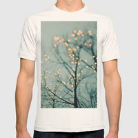 Lights  Mens Fitted Tee Natural SMALL