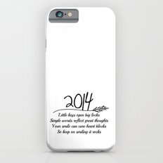 2014 A New Year Quote  iPhone 6s Slim Case