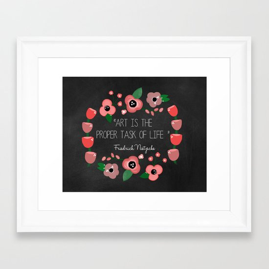 Art is Framed Art Print