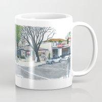 E Street Davis panorama Mug