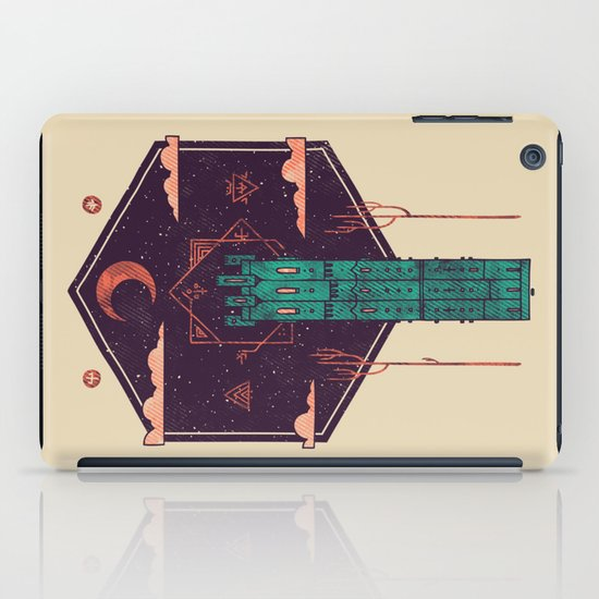 The Tower Azure iPad Case