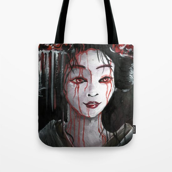 Geisha in Blood: The unwiling Concubine Tote Bag
