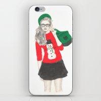 Christmas Fashion iPhone & iPod Skin