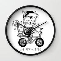 The Good Life Wall Clock
