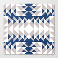 Pattern Print Edition 1 No. 6 Canvas Print
